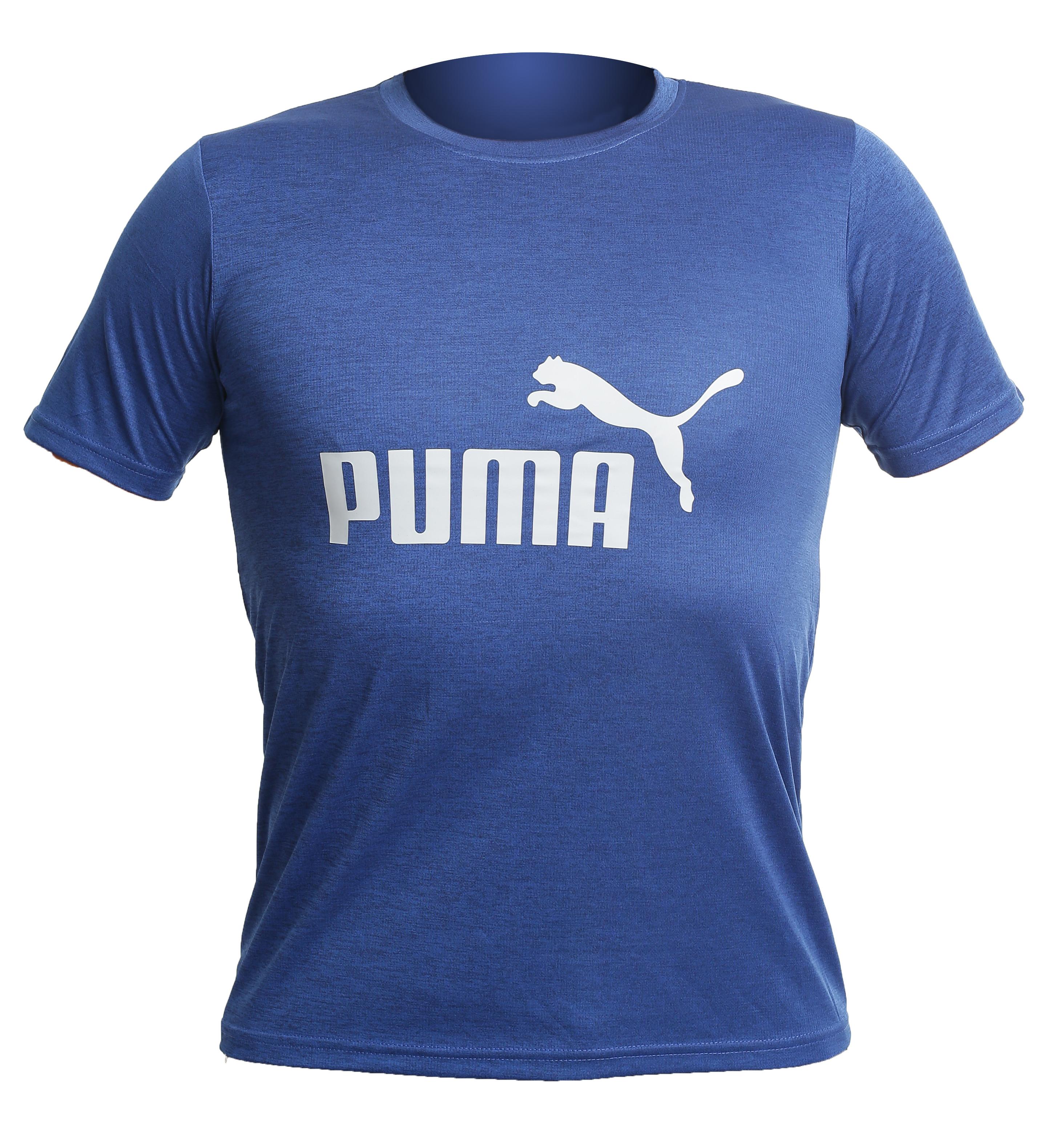 Футболка puma athletics sport blue