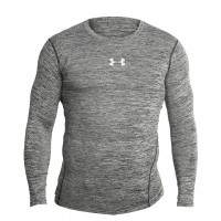 Рашгард under armour heat gear grey