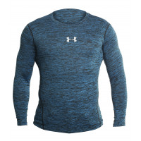 Рашгард under armour heat gear blue