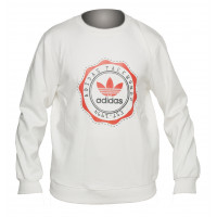 Свитшот adidas original white wd1756