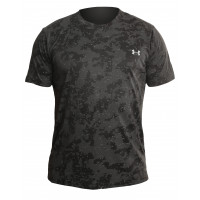Футболка under armour heat gear black