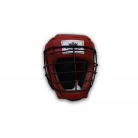 Шлем для единоборств №2 с маской empireboxing red