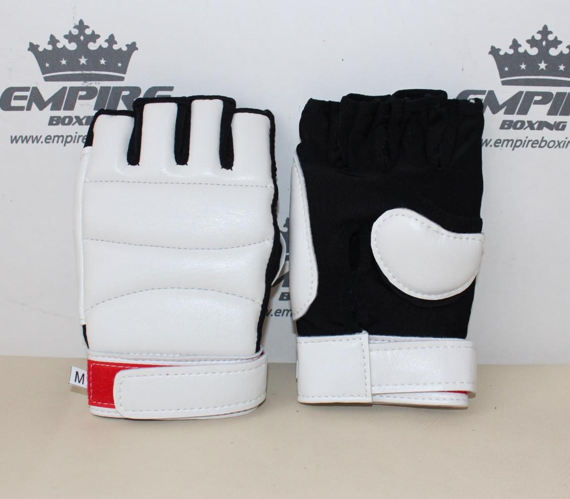 Перчатки для каратэ №3 empireboxing white