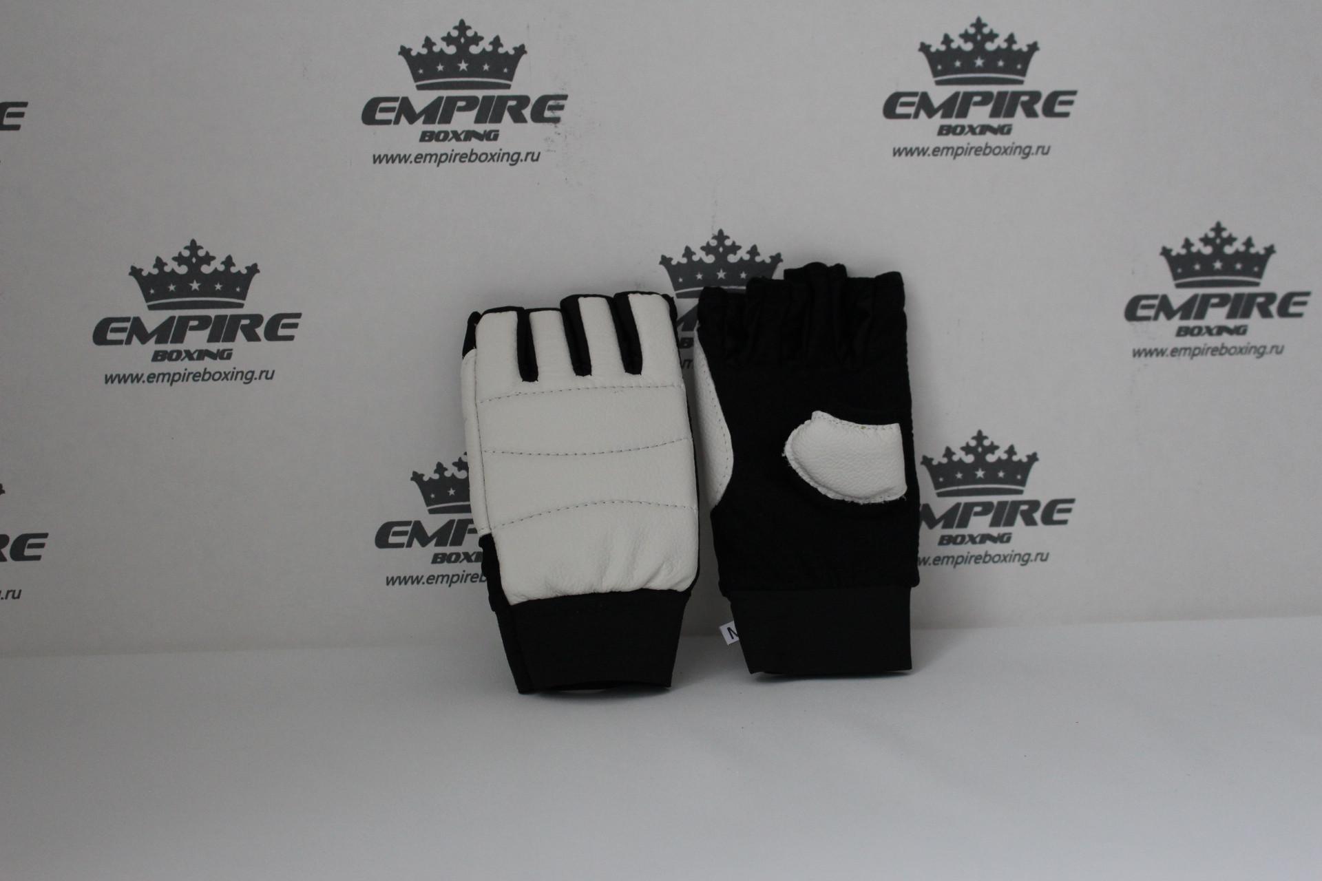 Перчатки для каратэ №4 empireboxing white
