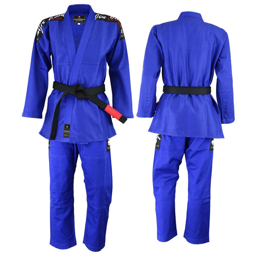Кимоно для бжж verus - blue (только куртка)