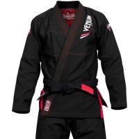 Кимоно для бжж venum elite bjj gi - black (только куртка)