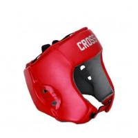 Шлем боксерский соревновательный cross red