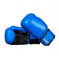 Боксерские перчатки cross comp 2p blue