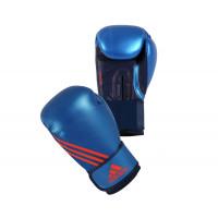 Перчатки боксерские speed 100 сине-оранжевые