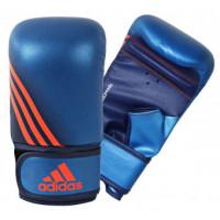 Перчатки снарядные adidas speed 100b сине-оранжевые