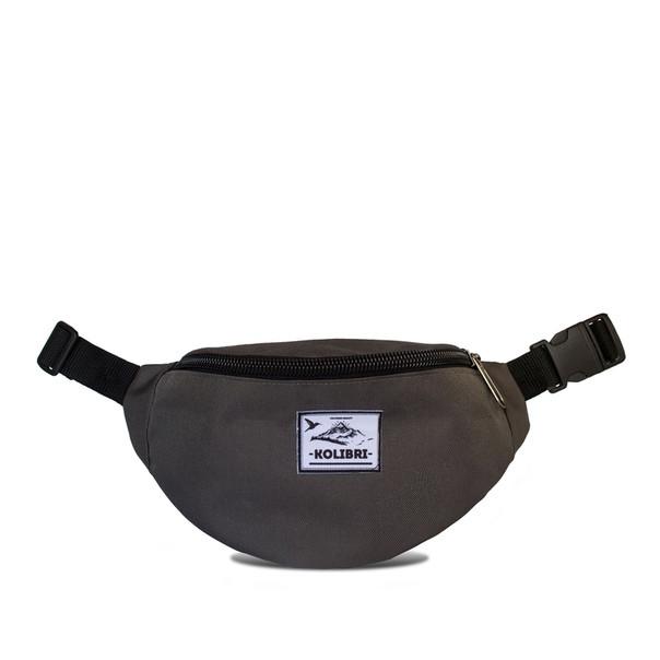 Поясная сумка kolibri grey