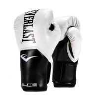 Перчатки тренировочные everlast elite prostyle white