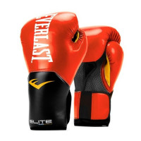 Перчатки тренировочные everlast elite prostyle red