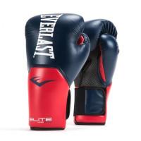 Перчатки тренировочные everlast elite prostyle blue red