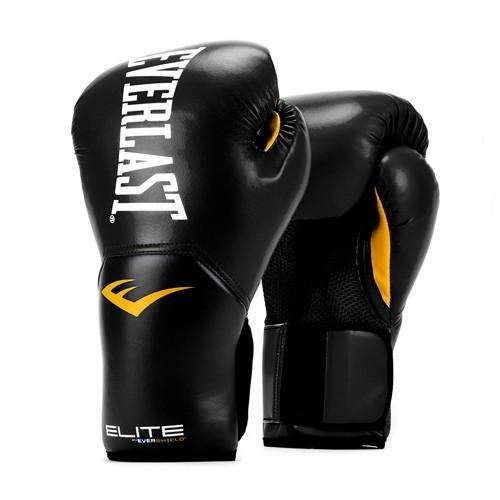 Перчатки тренировочные everlast elite prostyle black