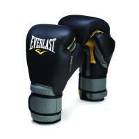 Перчатки тренировочные everlast elite ergo foam black grey