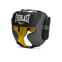 Шлем everlast sparring black grey