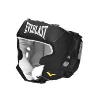 Шлем с защитой щек everlast usa boxing cheek black