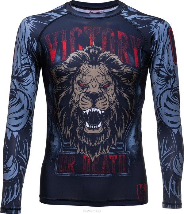Рашгард c длинным рукавом knockout lion