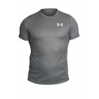 Футболка under armour heat gear grey 47