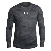 Рашгард under armour heat gear long sleevels black 313