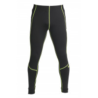 Спортивные штаны under armour heat gear black green 3231