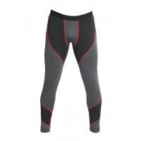 Спортивные штаны sport fitness black grey 4030