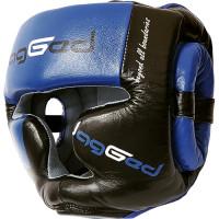 Боксерский шлем jagged full face blue