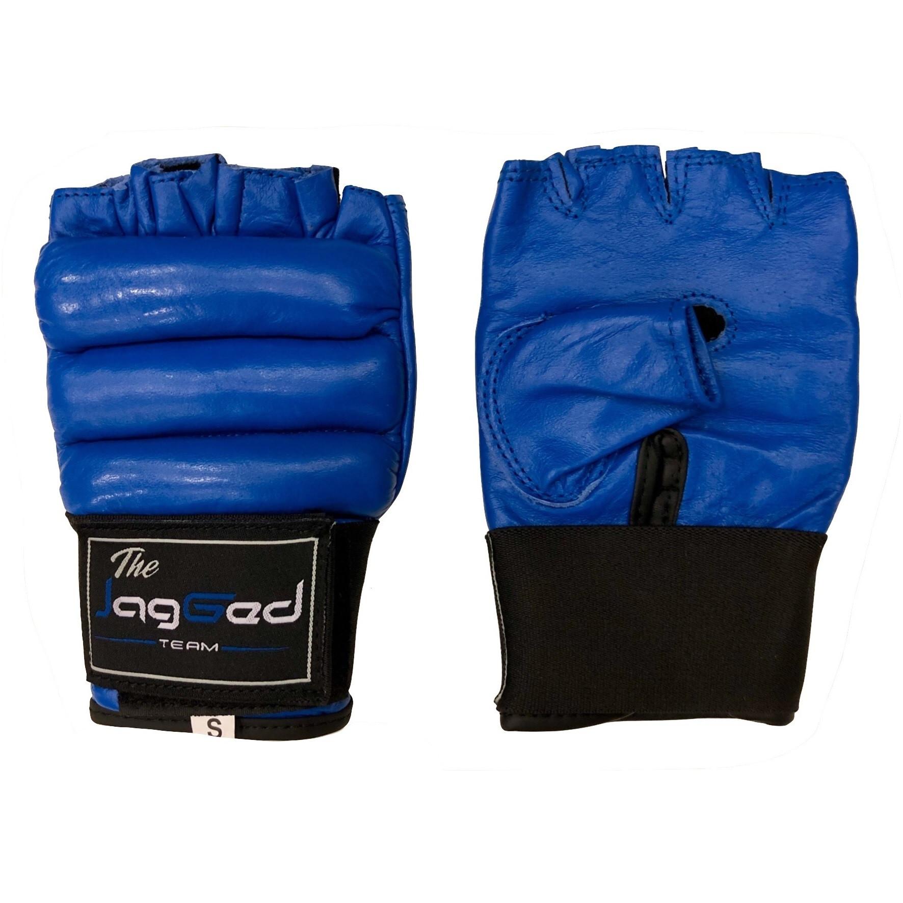 Перчатки самбо детские jagged blue