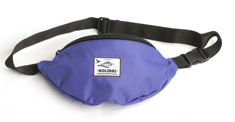 Поясная сумка kolibri purple