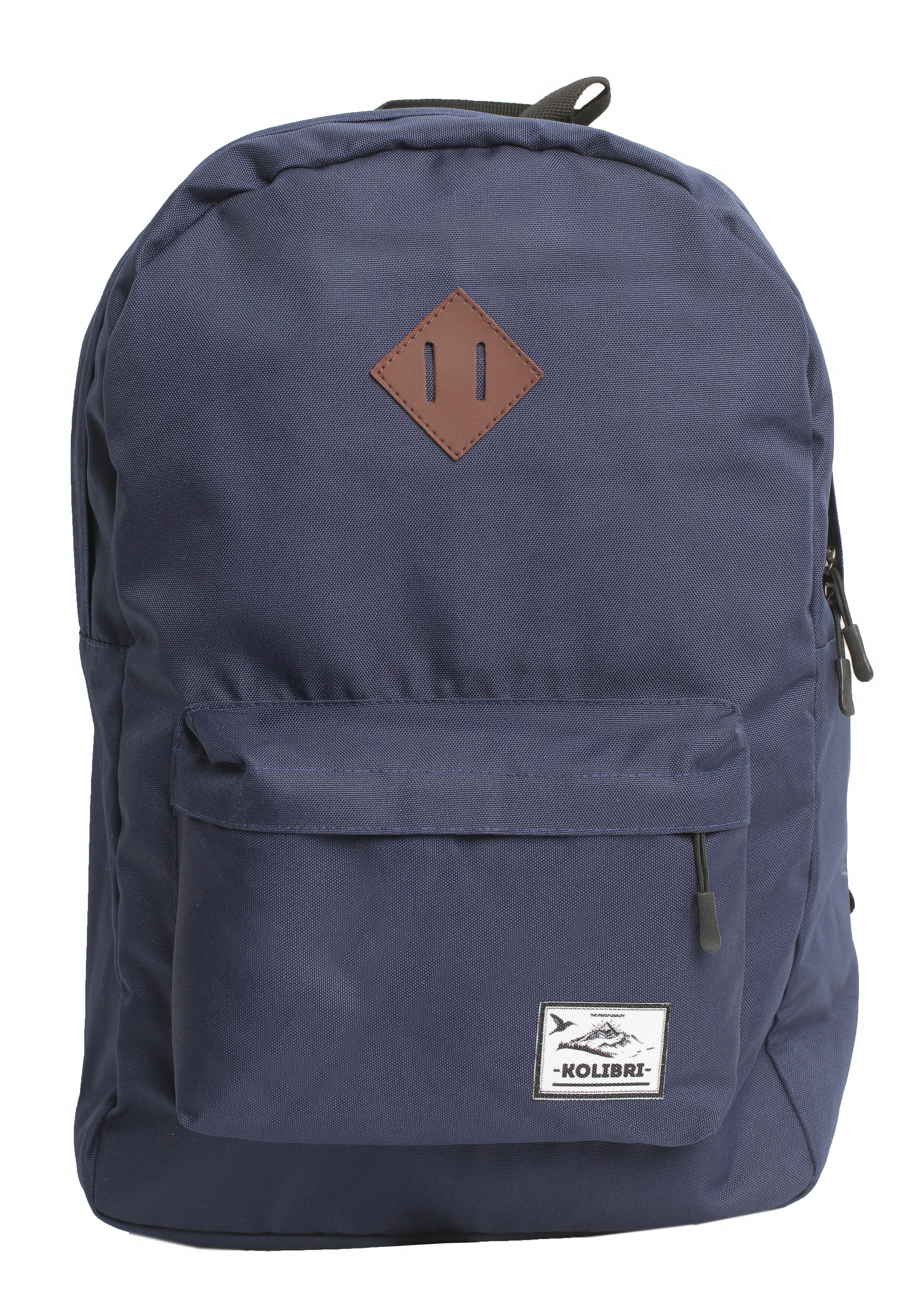 Рюкзак kolibri daypack classic dark blue большой