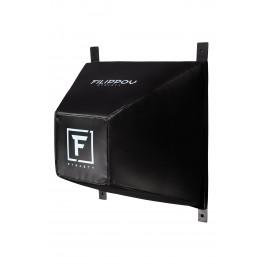 Боксерская профессиональная подушка пирамида filippov черный