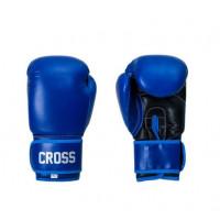 Боксерские перчатки cross comp 1p blue