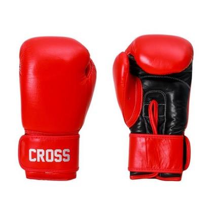 Боксерские перчатки cross comp 1n red