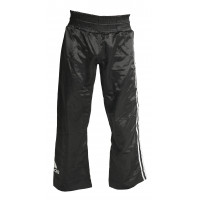 Штаны для кикбоксинга adidas kick boxing pant black white