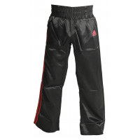 Штаны для кикбоксинга adidas kick boxing pant black red