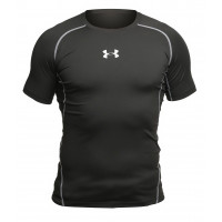 Рашгард under armour heat gear short sleevels black 05
