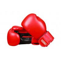 Боксерские перчатки cross comp 2n red