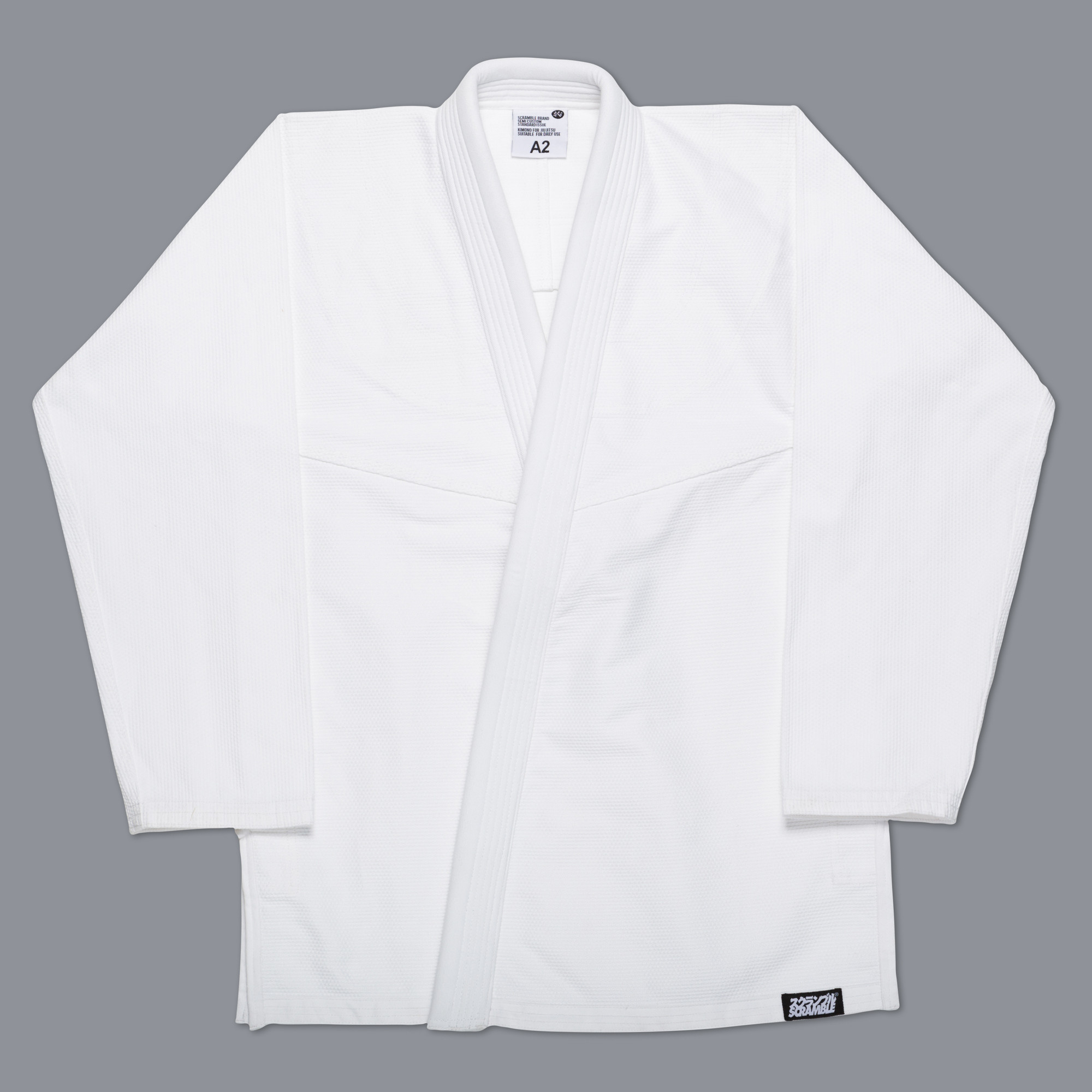 Кимоно для бжж scramble standard issue white