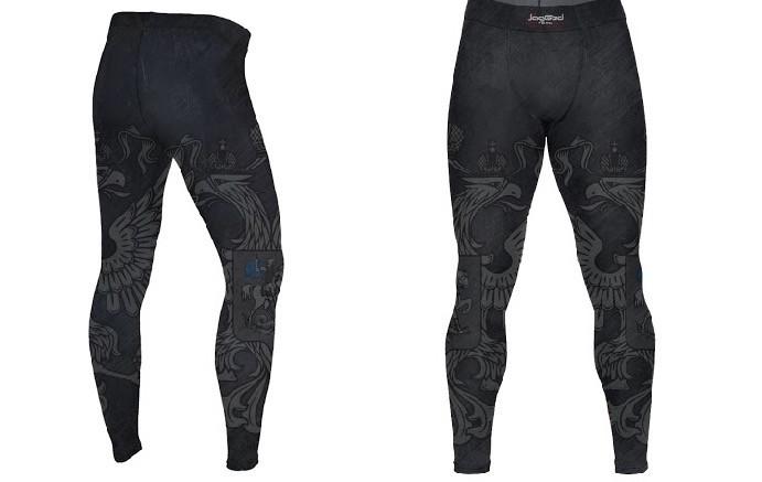 Спортивные штаны jagged russian eagle black