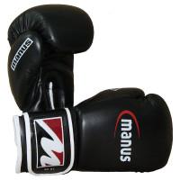 Боксерские перчатки manus training pack black