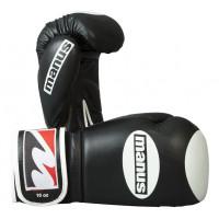 Боксерские перчатки manus training pack black white