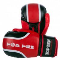 Боксерские перчатки top ten ralley red black