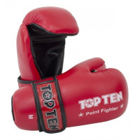 Перчатки top ten point fighter red