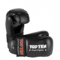 Перчатки top ten point fighter black
