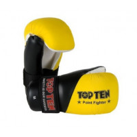 Перчатки top ten point fighter yellow