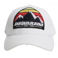 Бейсболка dsquared 2 white