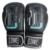 Боксерские перчатки leone fighter black