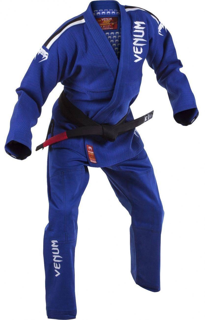 Кимоно для бжж venum absolute 2.0 bjj gi - blue