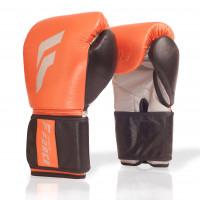 Боксерские перчатки infinite force x silver orange